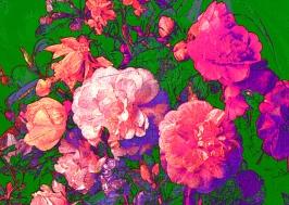 Blumen des Bösen